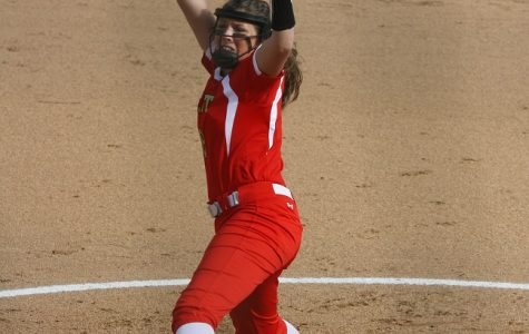 Taylor Roby pitching during a home game last season. The Lady Chargers went undefeated at home last season.