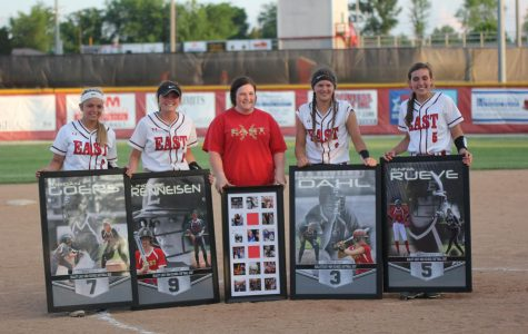 Lady Chargers Softball Senior Night