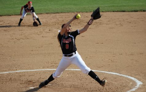 Pitcher Taylor Roby vs. Mercy in the district championship game.