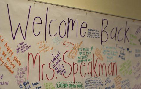 Mrs.Speakman Returns From Maternity Leave