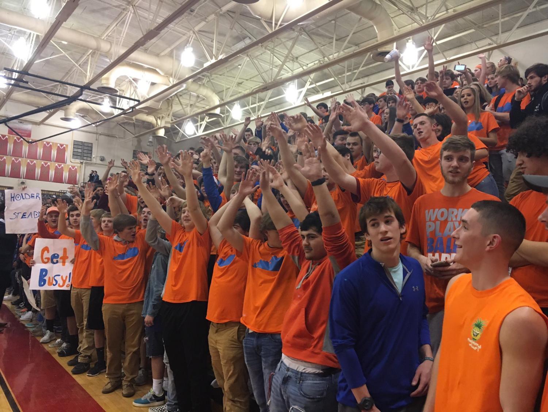The Red Zone at the Bullitt Central vs Bullitt East game in support of Marshall County.