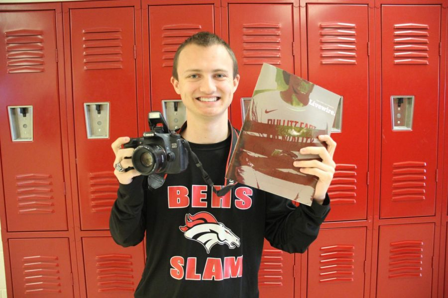 Ending his senior year, Combest worked hard on both he website and the magazine. Through his three years on staff, he has explored many sides of journalism including photography and videography.