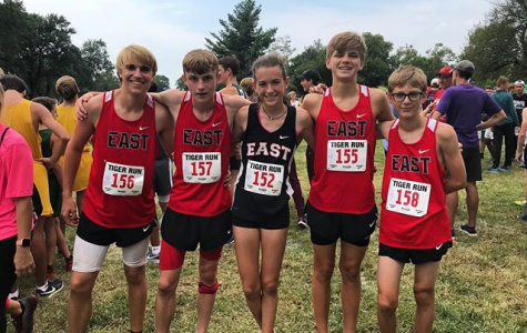 Freshmen runners on the team have been working hard for the start of the season. This is the first year on the team for a lot of these runners.