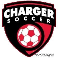 Bullitt East Chargers Soccer Logo