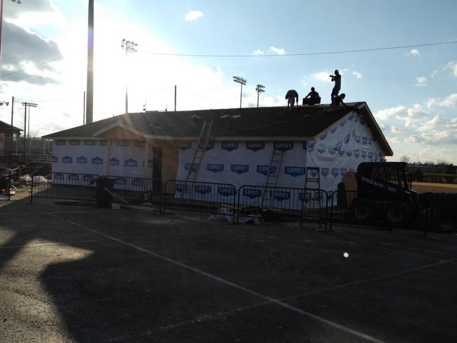The Baseball Team has a New Facility