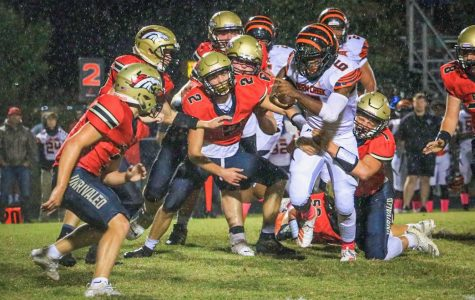 Chargers Fall Short in District Matchup