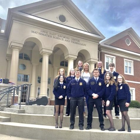 Bullitt East FFA Members Celebrates Wins At Regional Day