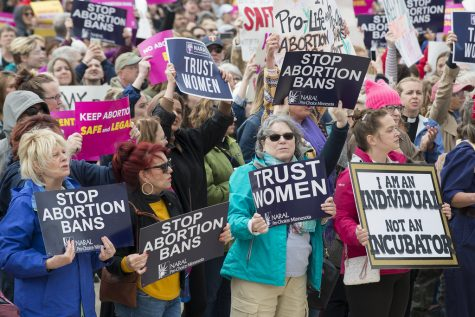 The country has become divided on abortion. People in the streets begin protesting against abortion. I am in agreeance with protesting  about abortion, these are just citizens using their rights. Isenberg said.