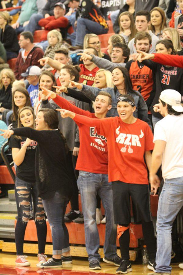 The RedZone Makes The Lady Chargers Rowdy