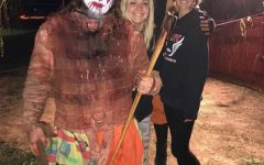 Seniors Sydney Rames and Brooke Taylor visited the Field of Screams in Brandenburg, Kentucky. Picture credits: Sydney Rames.
