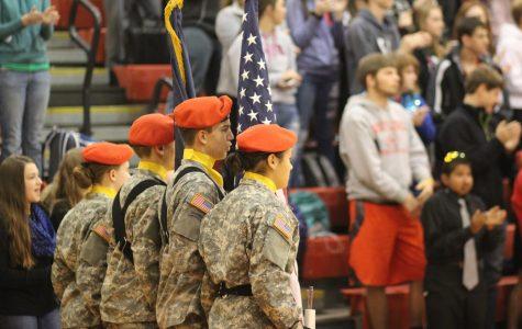 Annual Veteran's Day Assembly at Bullitt East