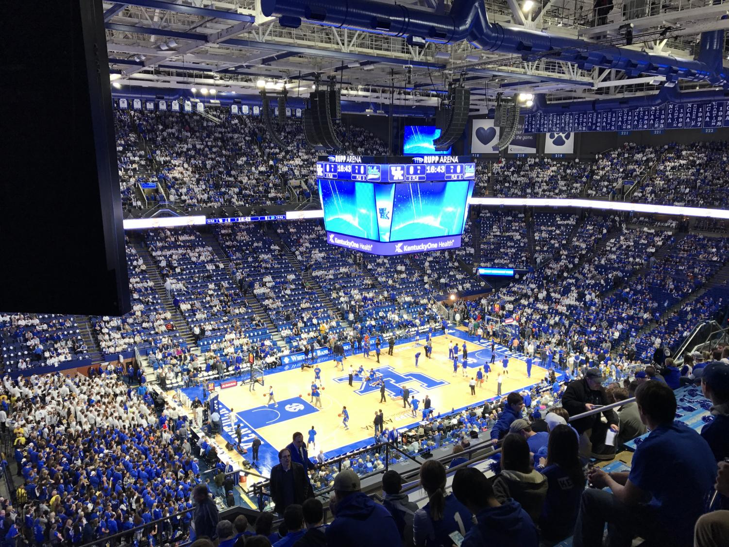 The two teams faced off at Rupp Arena on Nov. 29.