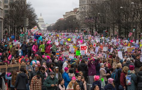Marching for Women's rights