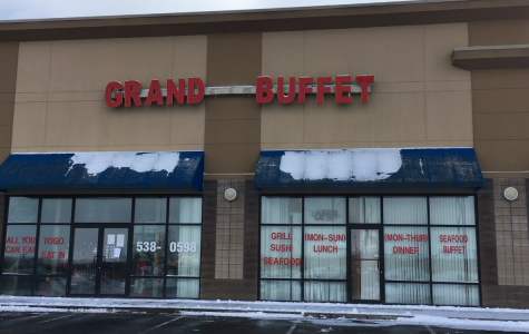 Grand Buffet after being raided by the FBI and closed down by the health department. It has been closed since Jan. 9 and it is unknown when it will reopen or if it will.