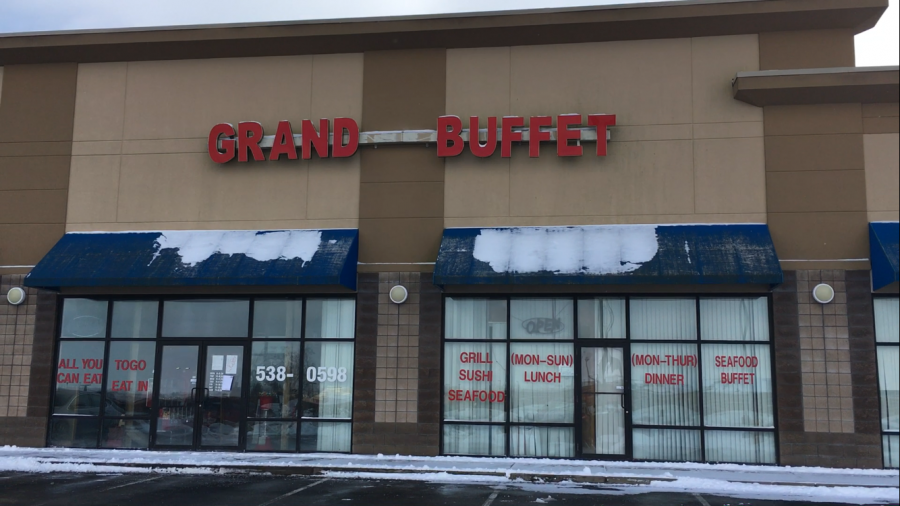 Grand+Buffet+after+being+raided+by+the+FBI+and+closed+down+by+the+health+department.+It+has+been+closed+since+Jan.+9+and+it+is+unknown+when+it+will+reopen+or+if+it+will.+