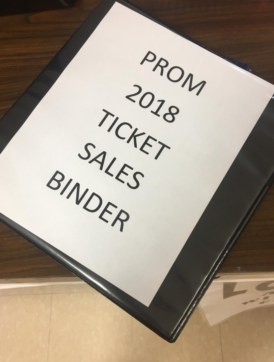 Prom tickets began selling this week. They will stop selling March 9.