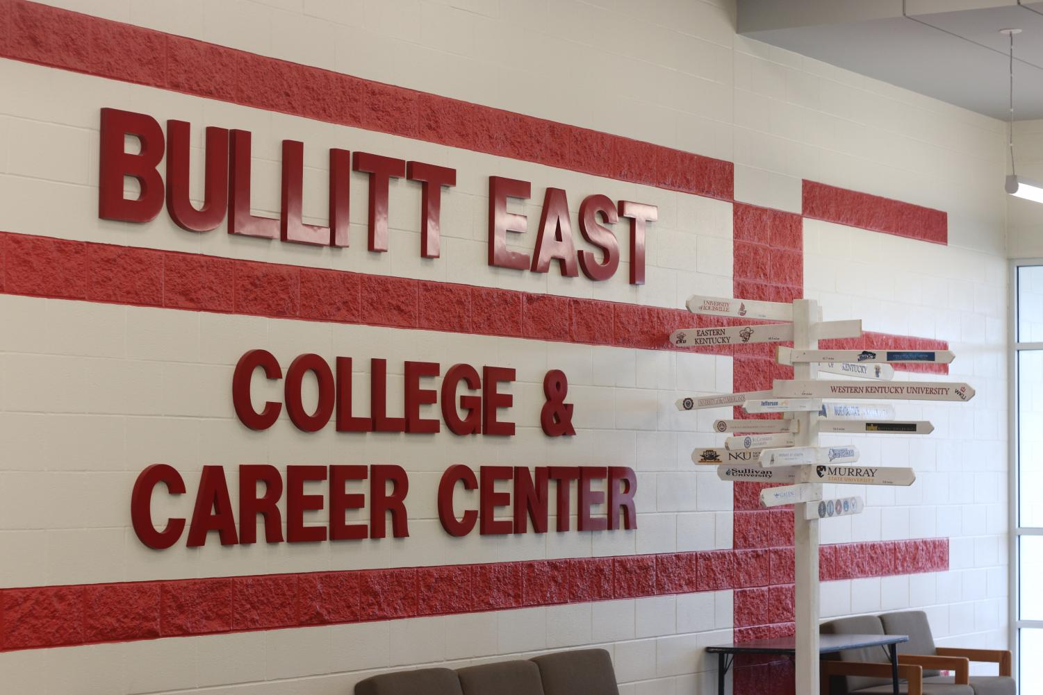 Bullitt East High school's college and career center, which holds many of the pathway classes that are offered.
