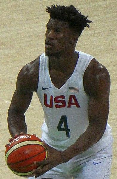 Star Timberwolves forward Jimmy Butler.