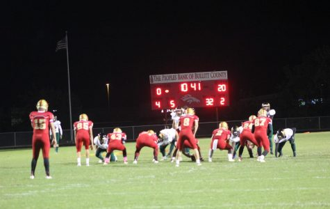 Charger Football Qualifies for Playoffs With Win Over North Bullitt