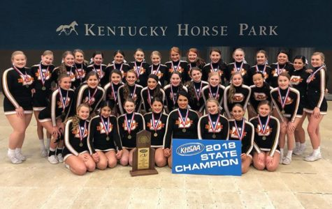 Six-Time State Cheerleading Champions