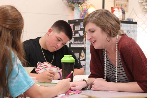 Phillips Bringing Positivity to Her Classroom